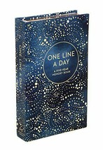 Nice One Line a Day Journal- Celestial Cover Journal, Diary, Book - $39.95