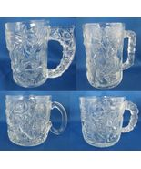 1995 McDonald's  Batman Forever Riddler Two Face Robin Glass Mugs Comple... - $21.99