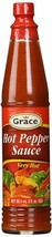 Grace Jamaican Hot Pepper Sauce -NO Msg -3 Oz (Pack Of 12) - $39.99