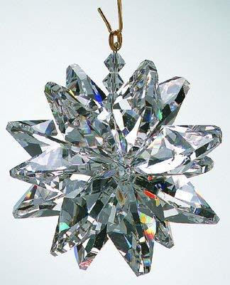 Small Clear Crystal Suncluster Ornament