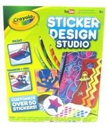 Crayola Sticker Design Studio Transfer Your Designs Into Stickers (50+ S... - $21.75