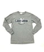 Vintage Lake Tahoe Camiseta Manga Larga Discovered 1944 Gris Heather Adu... - $27.70