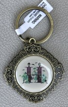 Disney Parks ABC Collection H Is For Haunted Mansion Keychain Bag Charm NEW - $19.95