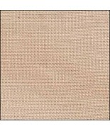 FABRIC CUT 32ct abecedarian linen 13x18 for Word Play series With Thy Ne... - $13.25