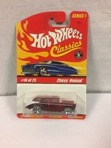 2004 Hot Wheels Classics Series 1 - Chevy Nomad #16 Red - $3.95
