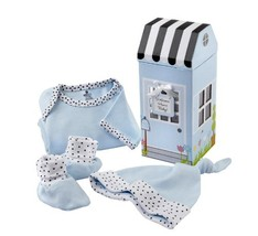 Baby Aspen Welcome Home Baby 3-Piece Layette Gift Set, Blue, 0-6 Months - $24.46