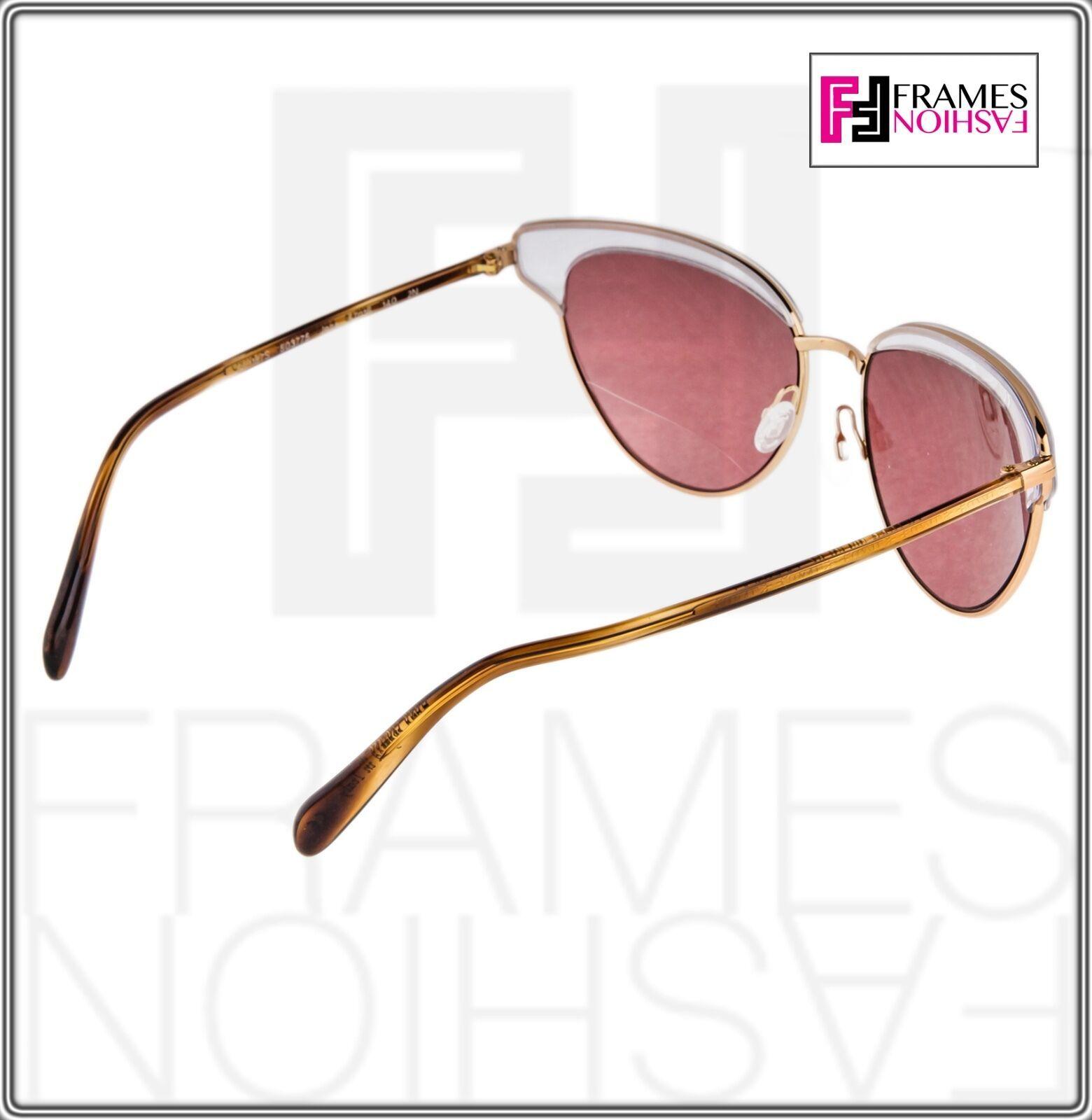 OLIVER PEOPLES JOSA OV1187S Rose Gold Pink Crystal Cat Eye Sunglasses 1187 image 6