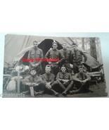 1929 era Military Photograph Postcard George Plattsburg, NY Training Cam... - $14.00
