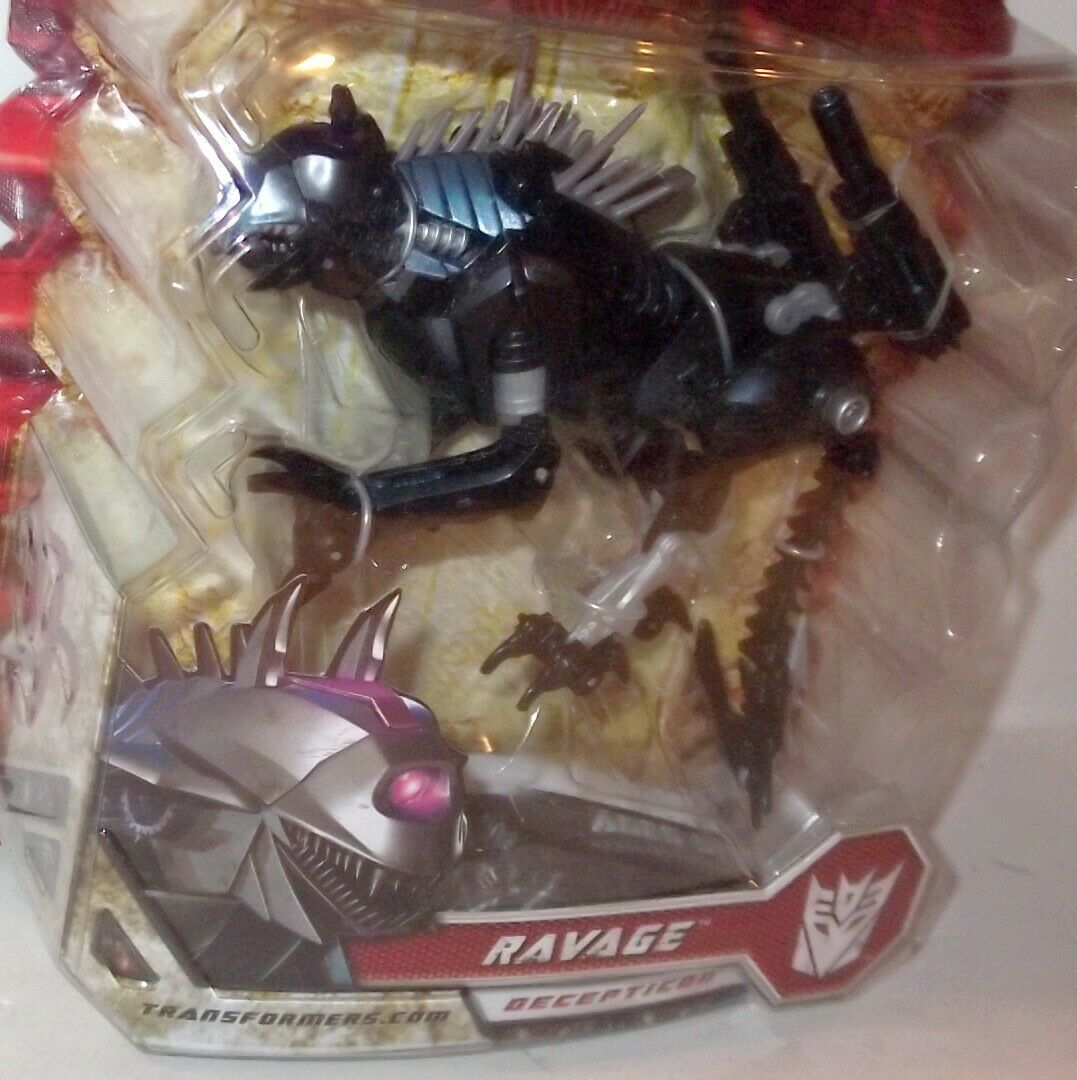 ✰ 2008 Transformers ROTF Revenge of the Fallen RAVAGE Deluxe Class Sealed MOC