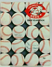 1968 Cincinnati Reds Official Baseball Yearbook Program - $14.77