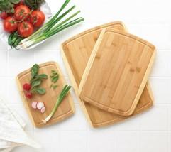 Bamboo Cutting Boards Three Sizes - $25.69