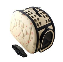 Pet Bag Travel Outdoor Carrier Shoulder Folding Portable Breathable Back... - $32.89