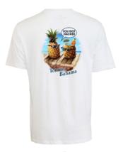 Tommy Bahama Men's You Got Hacked T-Shirt , White, Sz M - $39.59
