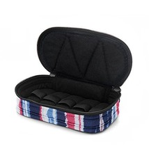 5-Bottle Purse-size Essential Oil Designer Carrying Case - Red/White/Blu... - $10.07