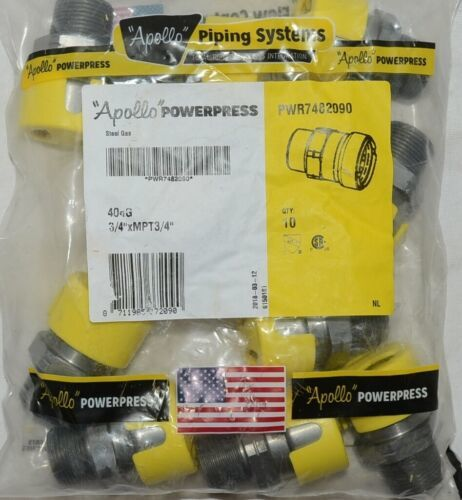 Apollo Powerpress PWR7482090 Carbon Steel Gas 404G Quantity 10 Per Bag