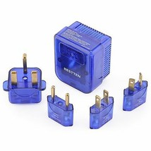 Bestten International Voltage Converter & Plug Set. Transform 220/240V T... - $24.46