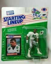 1989 Reggie White Philadelphia Eagles NFL Kenner Starting Lineup Action Figure  - $64.30