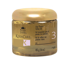 Avlon KeraCare Clear Protein Styling Gel, 16oz