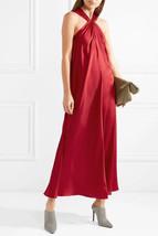 ELIZABETH AND JAMES CAVAN TWIST NECK SATIN MAXI DRESS, SZ 0, NEW - $3.481,80 MXN