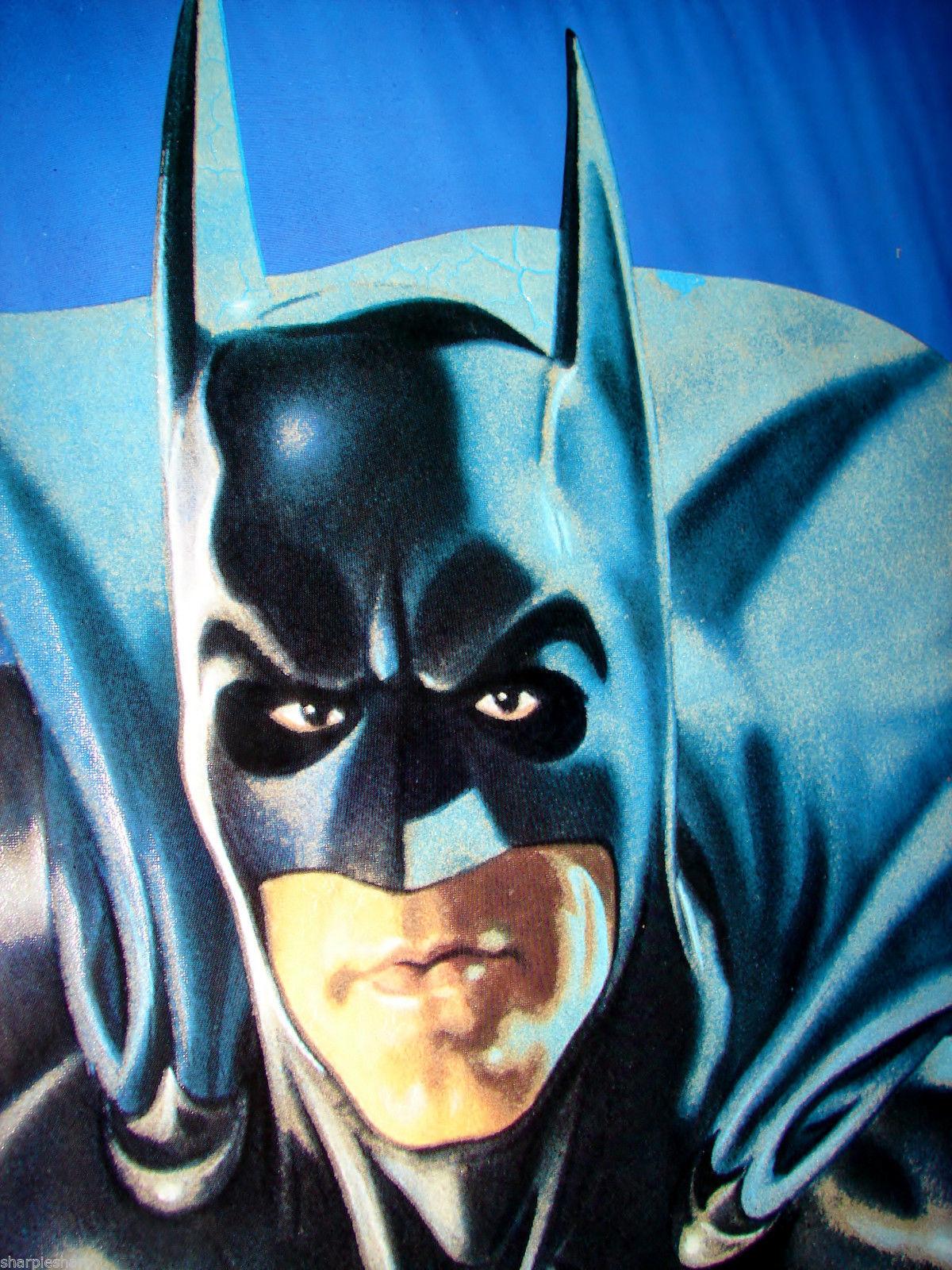 "1997 BATMAN & ROBIN Movie BATMAN GLOW IN THE DARK POSTER 23x34.5"" 30-005 2"