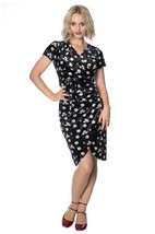 Banned Apparel - Midnight Floral Dress - $56.10