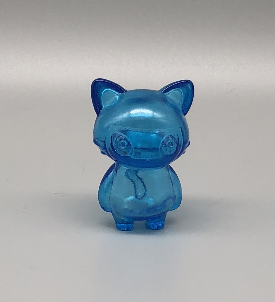 Max Toy Blue Clear Mini Cat Girl