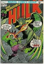 Incredible Hulk #168 (Marvel 1973) - $20.00