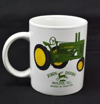 John Deere Model A Tractor Moline ILL. Coffee Mug Licensed - $24.70