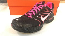 Nike Women's Air Max Torch 4 Running Shoes Size 7 US Black Pink - $117.81