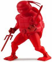 Kidrobot Teenage Mutant Ninja Turtles 7 Inch Raphael Vinyl Figure TMNT NIB image 3