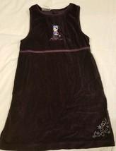 Minnie Mouse Disney Store Purple Velvet Dress Girls Youth Size 6 - $14.69