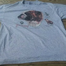 bull dog T-Shirt Fruit of Loom Large 50/50 tee - $26.22