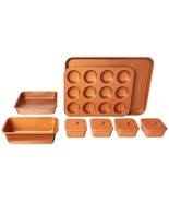 Set de utensilios para hornear Moldes para pasteles 12 piezas Antiadherente - $67.62