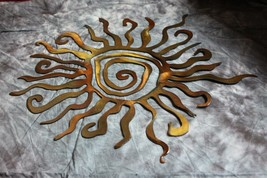 "Sun Metal Wall Art 24"" - $79.98"