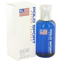 POLO SPORT by Ralph Lauren Eau De Toilette Spray 2.5 oz for Men - $65.95