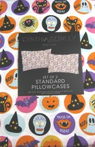 Cynthia Rowley Trick or Treat Halloween Cotton Pillowcaess Standard - $21.00