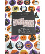Cynthia Rowley Trick or Treat Halloween Cotton Pillowcaess Standard - $21.00