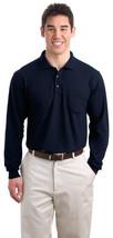 Port Authority K500LSP Men's Pocket Polo Shirt - Navy - $21.18+