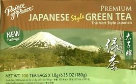 1 Box, Prince of Peace Premium Japanese Green Tea 6.35Oz/180g - 100 Tea Bags - $13.09