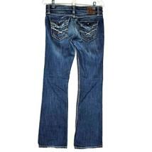 BKE Buckle Kate Boot Leg Jeans Women's Stretch Blue Denim 27 X 31 1/2 - $34.64