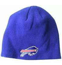 New With Tags NFL Buffalo Bills Youth Beanie Knit Cap Team Color Royal Blue - $15.29