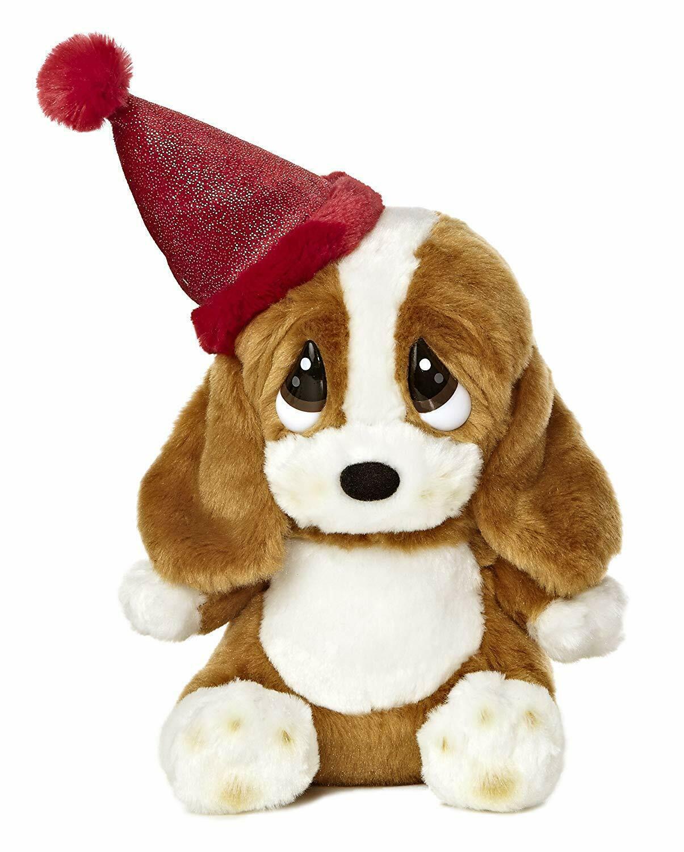 "Aurora World Sad Sam Lil Pup Birthday Plush 7.5"". Item #15384. W/ Birthday Music"