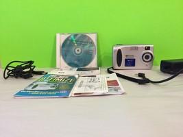 HP Photo smart 215 Digital Camera CD And All Cords Gift - $26.18