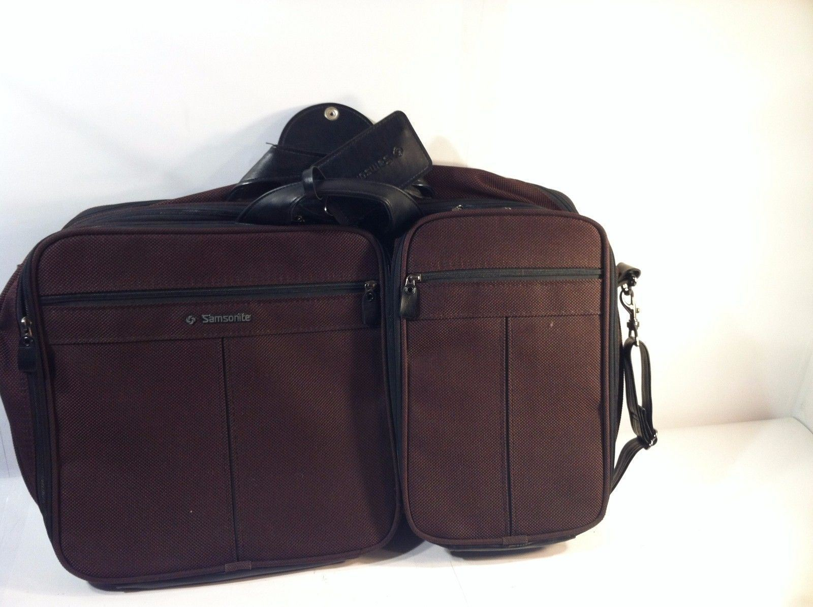 Primary image for SAMSONITE TRAVEL BAG--CARRY ON---SUITCASE--ORGANIZER--FREE SHIP--VGC
