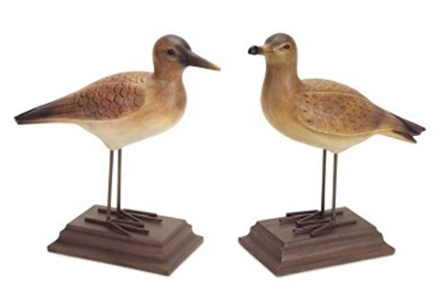 Seashore Birds with Stand Table Piece Set of 2