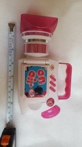 Barbie On Air Kids Toy News Video Camera Camcorder Talking Sounds Lights... - $14.95