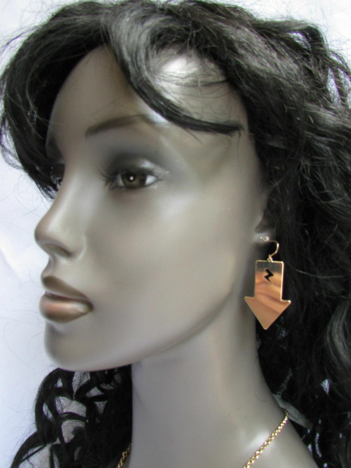 Femmes Sexy Métal or Lightning Flèches Breloque Mode Tendance Bijoux Collier image 9