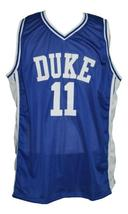 Bobby hurley  11 custom college basketball jersey blue   1 thumb200
