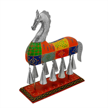 Handicrafts Horse With Bells Indian Home Decor item - $68.99
