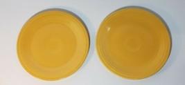 Nice Vintage Homer Laughlin Fiesta Yellow Luncheon Dinner Plate - $12.50